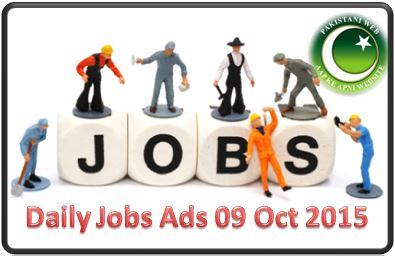Daily Jobs Ads 09 Oct 2015