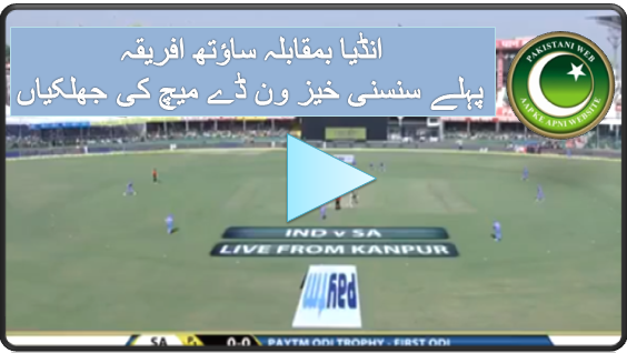 India Vs South Africa 1st ODi 2015 Highlights