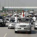 تحریک انصاف کا مینارِ پاکستان پر جلسہ، عمران خان کی جلسہ گاہ آمد