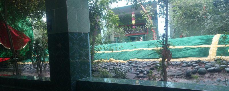 پشاور کے ایک نواحی علاقے میں دفن صحابی رسولؐ اور اسکے ساتھی اھل پشاور کی خوش قسمتی کی علامت۔