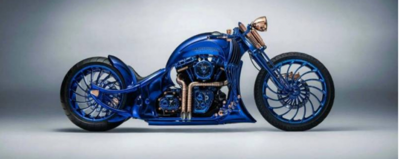 سونے اور ہیروں والی دنیا کی سب سے مہنگی موٹر سائیکل تیار