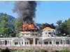 مسلم لیگ ن کے رہنما انجینیر امیر مقام کے گھر کو آگ نے اپنی لپیٹ میں لے لیا